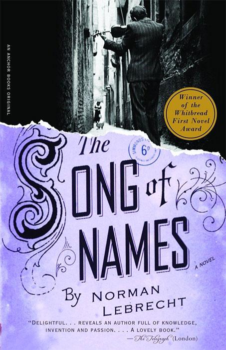 Песента на имената - книга